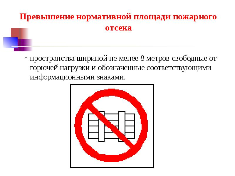 Разработка компенсирующих мероприятияй при отступлении от норм пожарной безопасности, слайд 35