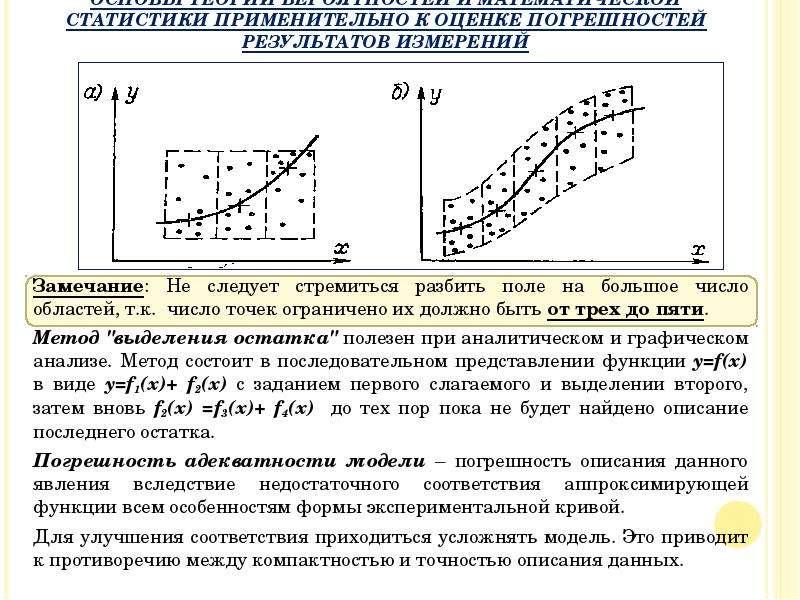 Замечание: Не следует стремиться разбить поле на большое число областей, т. к. число точек ограничен