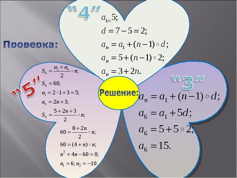 Арифметическая прогрессия. Применение формул, слайд 11