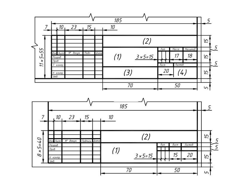 Основные правила оформления чертежей, слайд 4