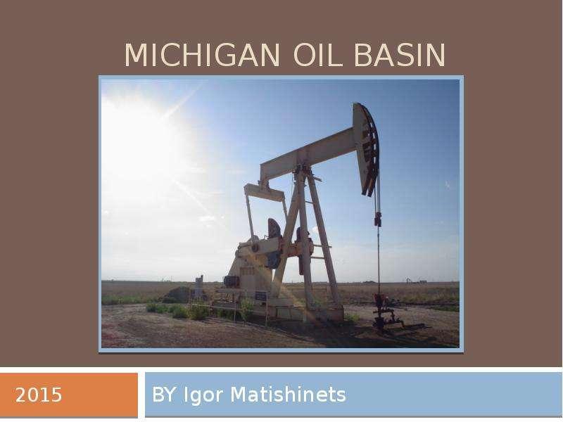 Michigan Oil Basin