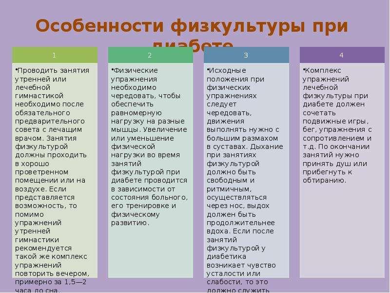 ЛФК и рациональное питание при заболеваниях обмена веществ, слайд 18