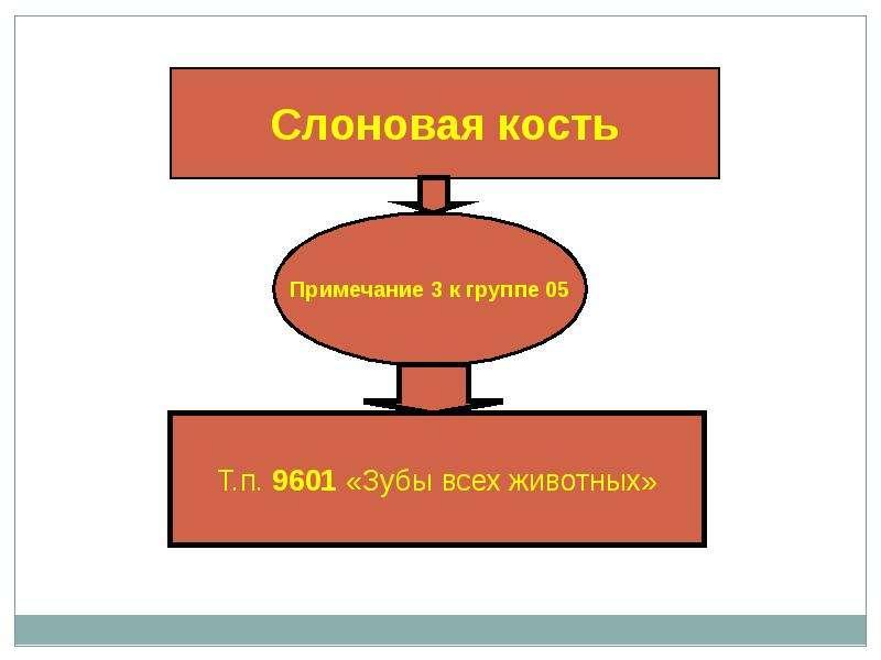 Гармонизированная система описания и кодирования товаров, слайд 44