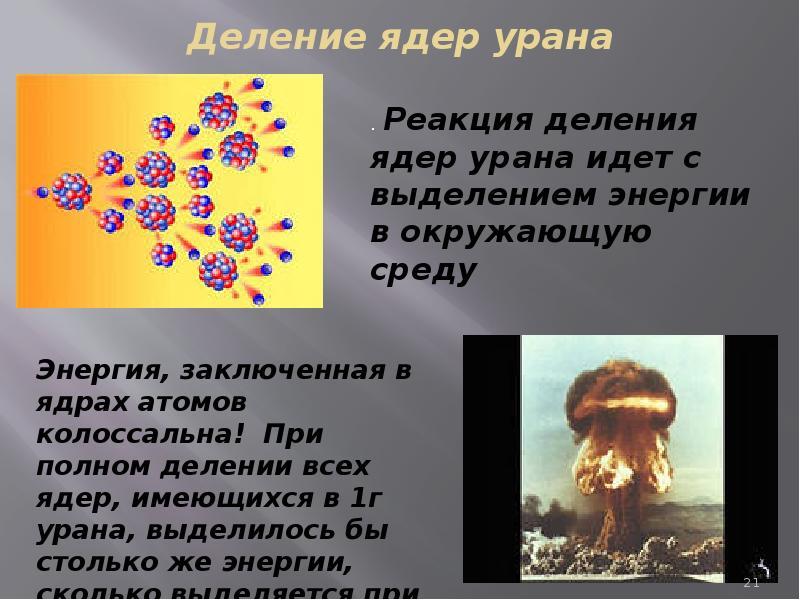 сказочную деление ядер урана картинка пробегом
