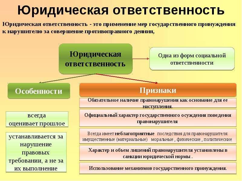 Правонарушения и их виды Юридическая ответственность, слайд 15