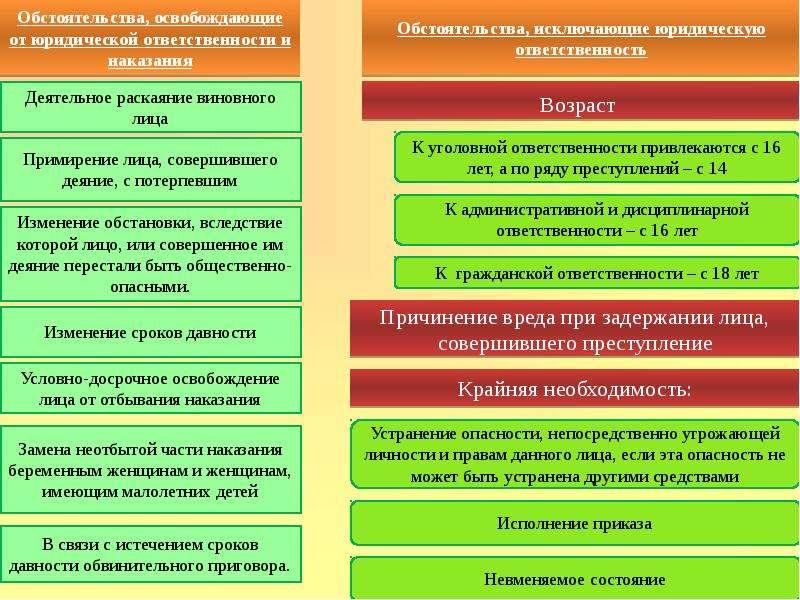 Правонарушения и их виды Юридическая ответственность, слайд 20