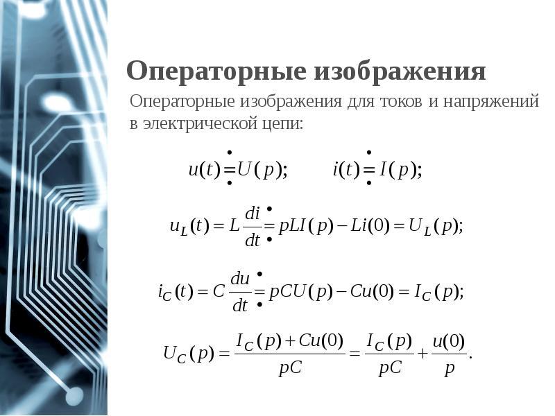 Операторные изображения
