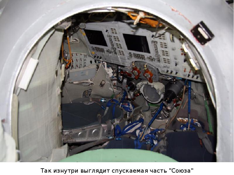 Спускательный аппарат корабля «Союз ТМА-14». Часть