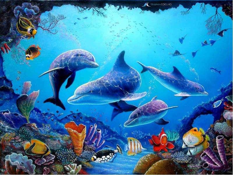 что него фотообои морские обитатели также поможет