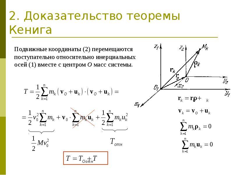 2. Доказательство теоремы Кенига