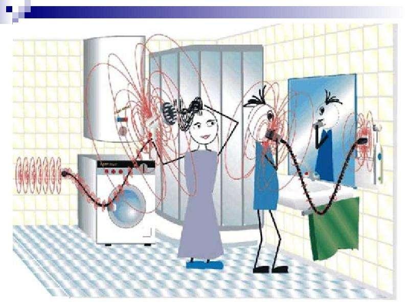 Нормирование электромагнитных излучений, методы контроля и средства защиты, слайд 54