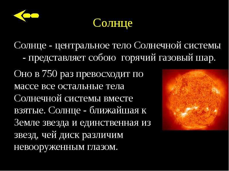 сообщение о солнце с картинками точки зрения морали