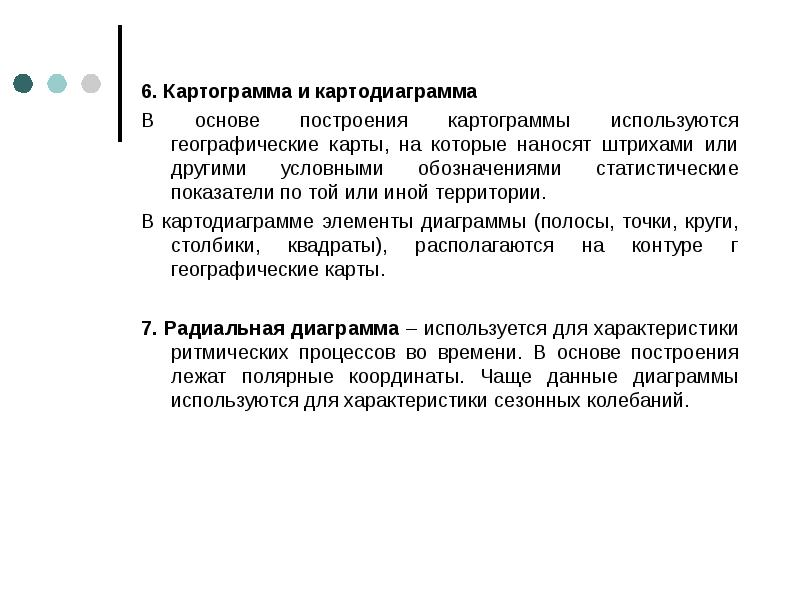6. Картограмма и картодиаграмма 6. Картограмма и картодиаграмма В основе построения картограммы испо