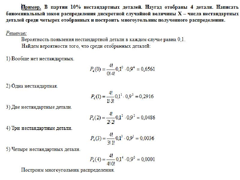 Случайные величины, законы их распределения и числовые характеристики, слайд 15