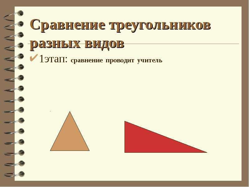 1этап: сравнение проводит учитель 1этап: сравнение проводит учитель