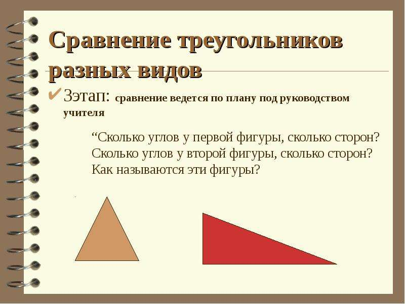 3этап: сравнение ведется по плану под руководством учителя 3этап: сравнение ведется по плану под рук