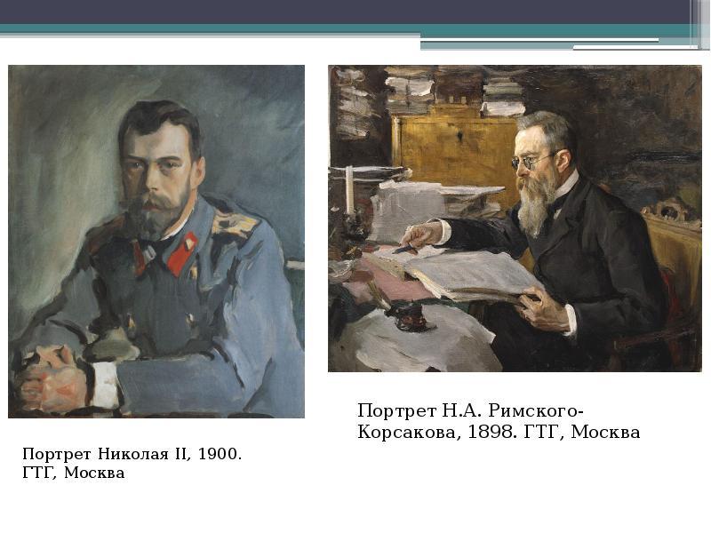 Портрет Николая II, 1900. ГТГ, Москва