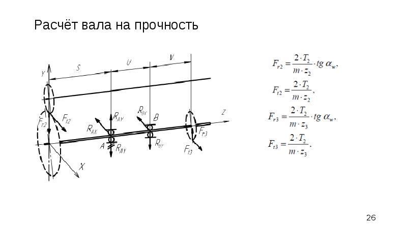 Конструирование передаточного механизма, слайд 26