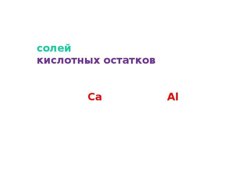 Соли, как производные кислот и оснований. Их состав и номенклатура, слайд 12