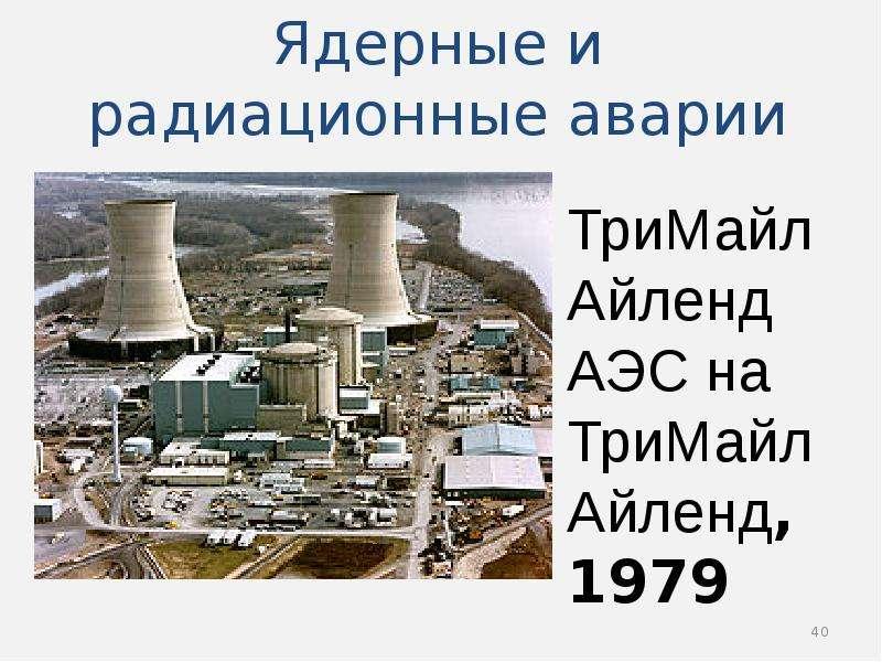 Ядерные и радиационные аварии