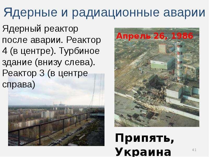 Атомная энергия, атомные электростанции и бомбы, ядерная медицина и защита от радиации, слайд 41