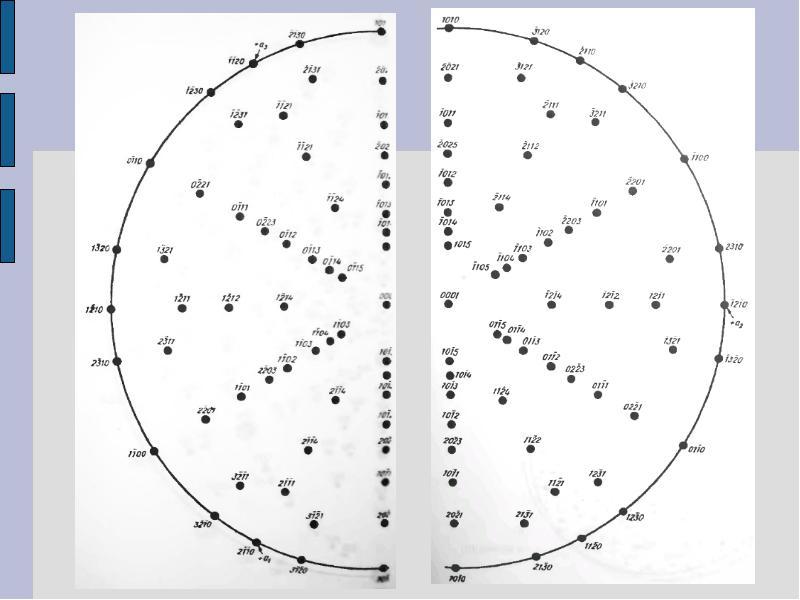 Анализ текстуры. Прямые полюсные фигуры, слайд 27
