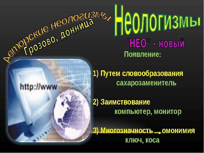 Лексика с точки зрения активности употребления, слайд 15