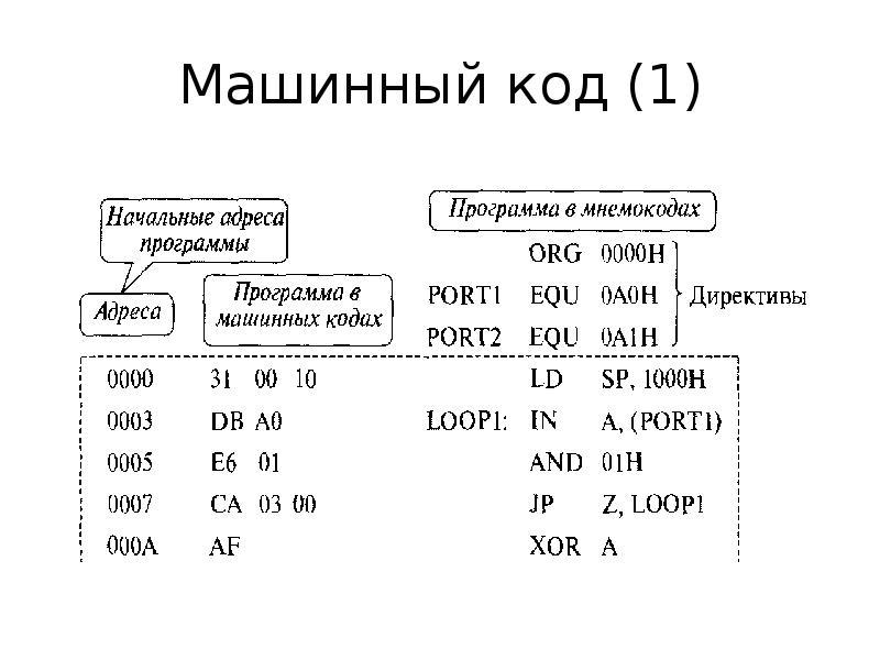 Машинный код (1)