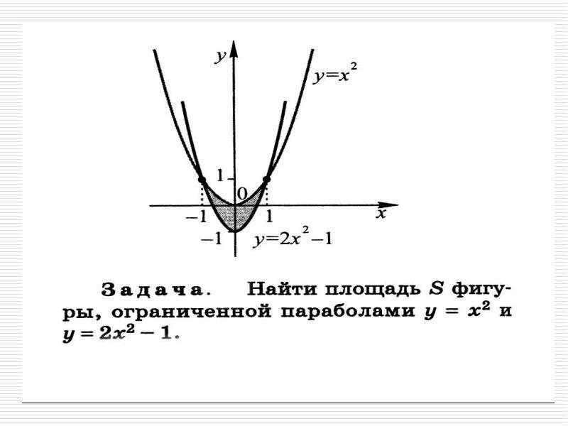 Применение интеграла к решению задач, слайд 9