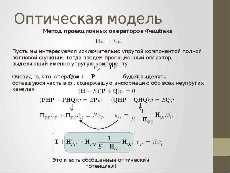 Оптическая модель