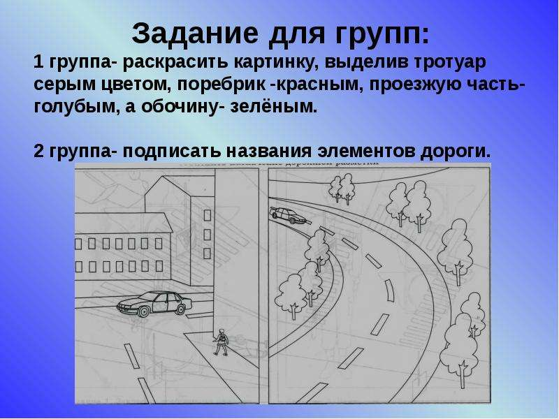 Элементы улиц и дорог, рис. 15