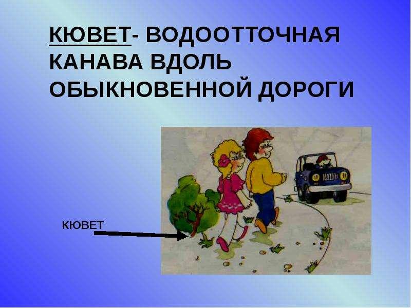 Элементы улиц и дорог, рис. 8