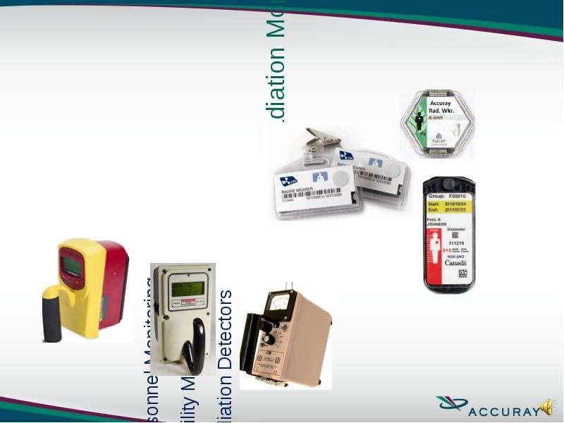 Personnel Monitoring Personnel Monitoring Facility Monitoring Radiation Detectors