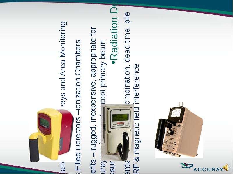 Radiation Leakage Surveys and Area Monitoring Radiation Leakage Surveys and Area Monitoring Gas Fill