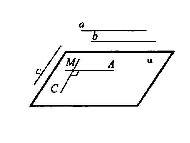 Решение задач по теме «Перпендикулярные прямые в пространстве», слайд 5