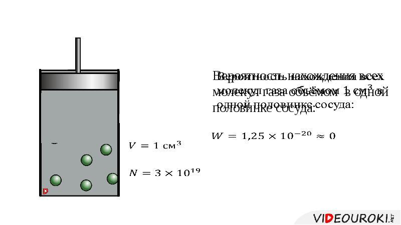 Первый закон термодинамики. Необратимость процессов в природе, слайд 14