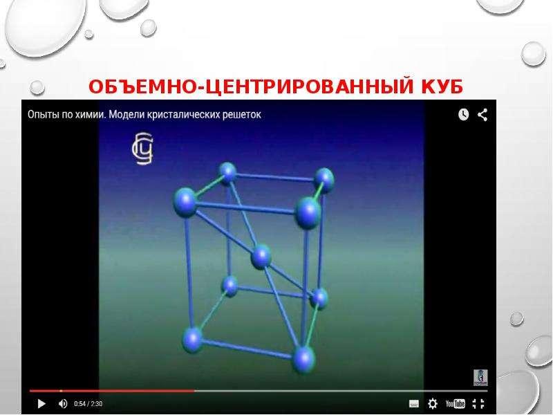 Объемно-центрированный куб
