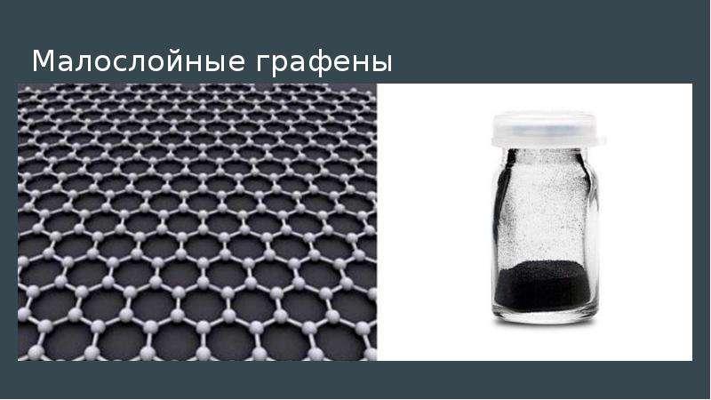 Малослойные графены