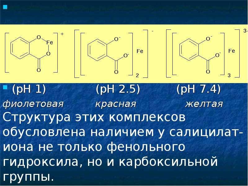 (рН 1) (рН 2. 5) (рН 7. 4) фиолетовая красная желтая