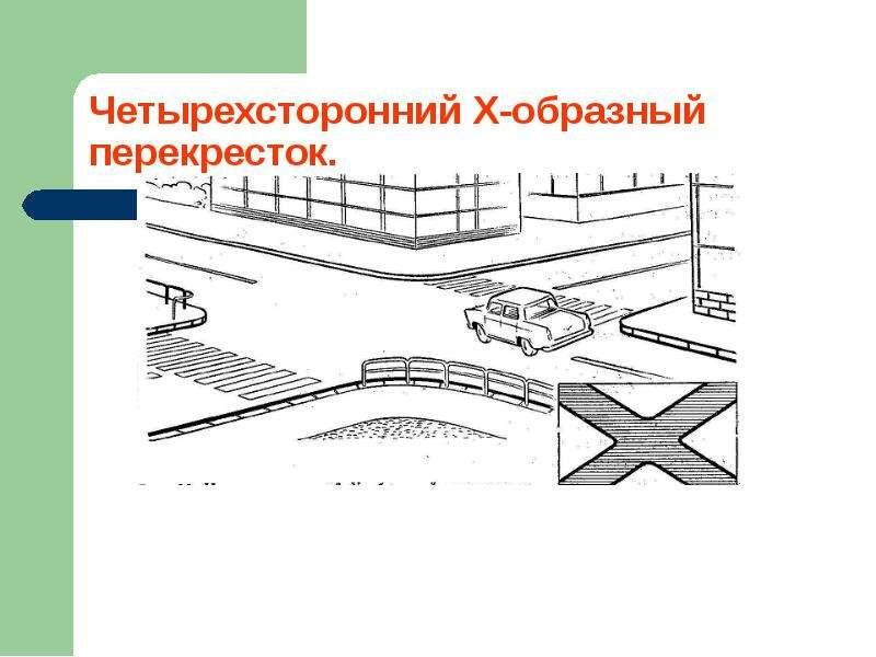 Перекрестки и их виды. Движение пешеходов и водителей, слайд 5