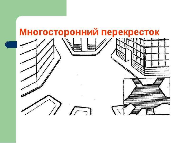 Перекрестки и их виды. Движение пешеходов и водителей, слайд 9