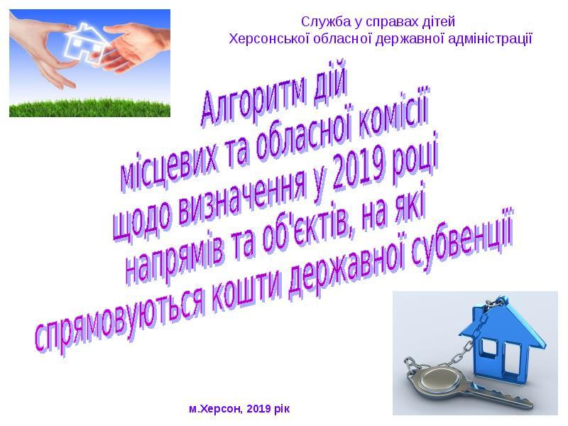 Алгоритм роботи місцевих та обласної комісій