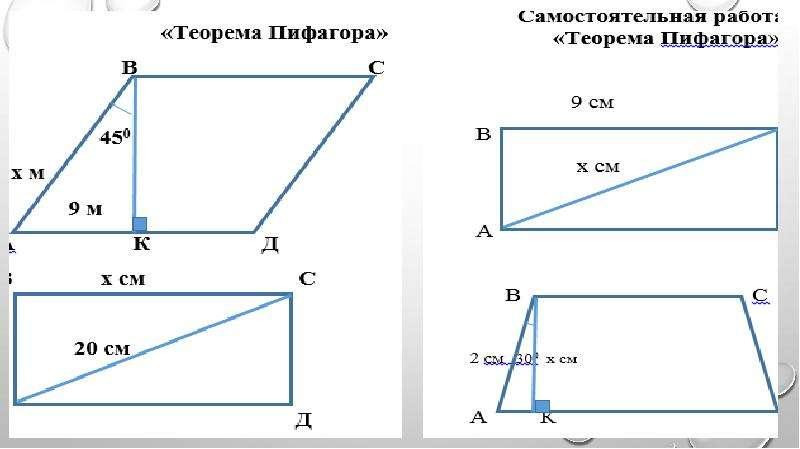 Биография Пифагора. Применение теоремы Пифагора в жизни, слайд 11