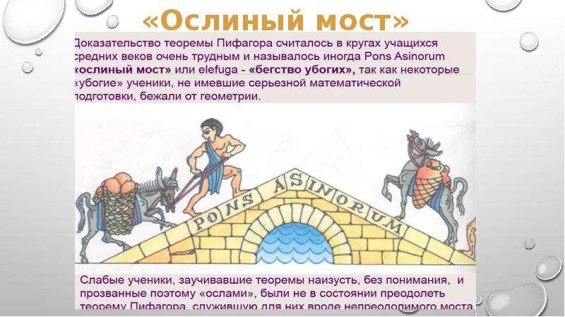 Биография Пифагора. Применение теоремы Пифагора в жизни, слайд 4