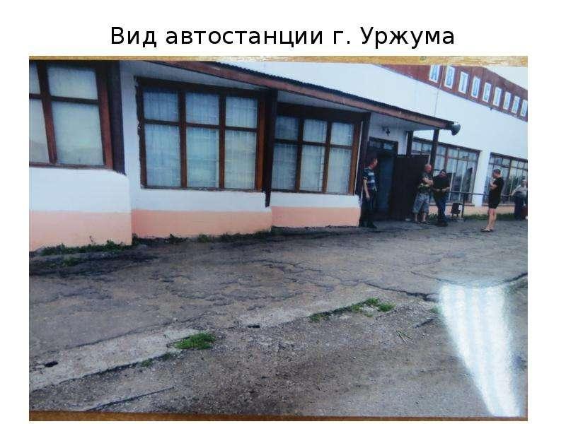 тех уржум автовокзал фото касается глиняных