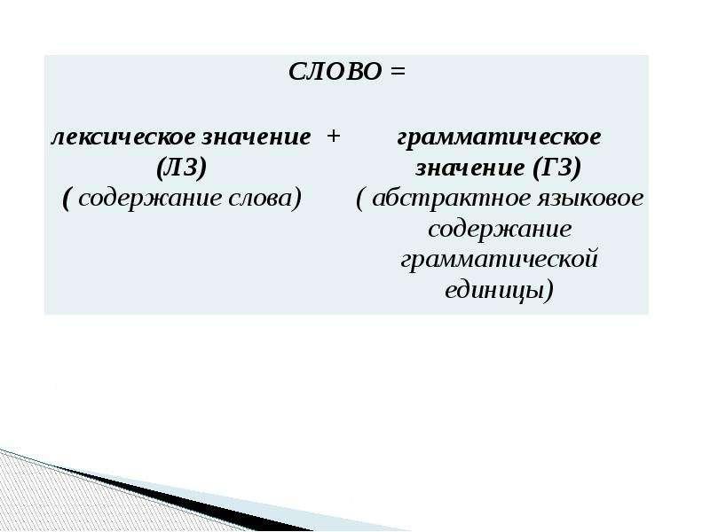 Грамматика. Центральные понятия грамматики, слайд 6