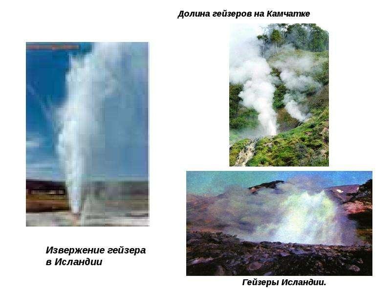 Извержение вулканов, рис. 17