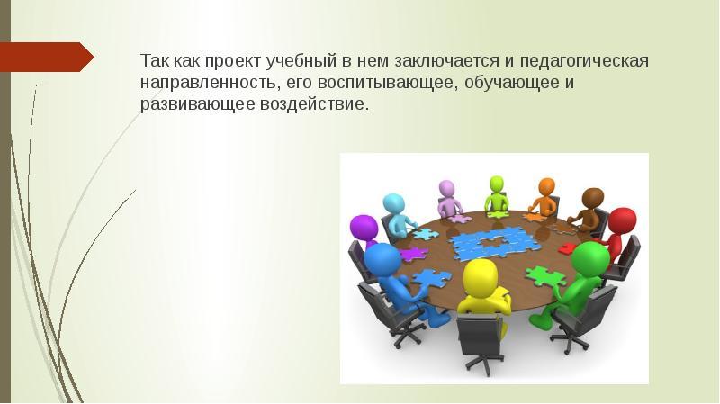 Так как проект учебный в нем заключается и педагогическая направленность, его воспитывающее, обучающ
