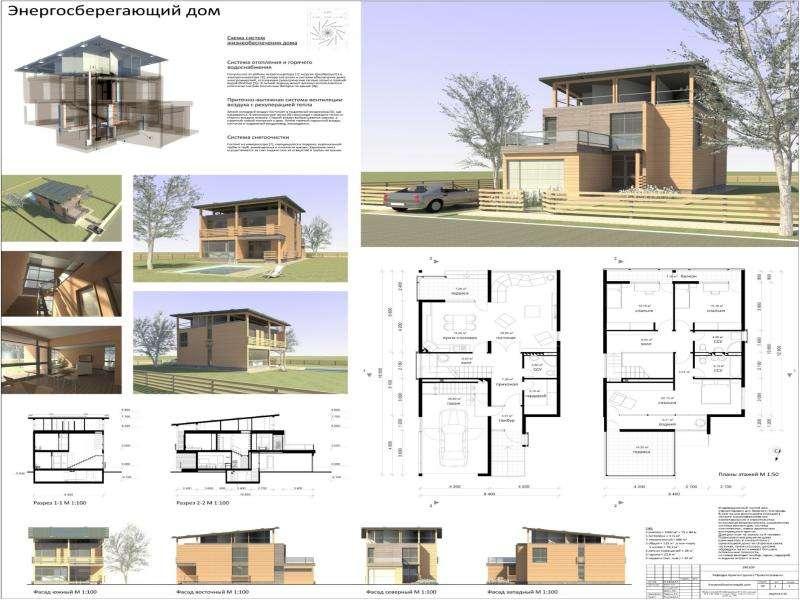 Архитектурные конструкции зданий с энергоэффективными свойствами, слайд 42