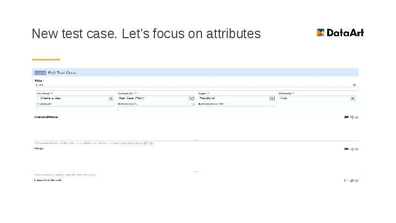 New test case. Let's focus on attributes